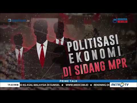 "Menyorot Pidato ""Titipan Emak-Emak"" Zulkifli Hasan Di Sidang MPR Mengkritik Jokowi"