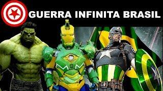 A Guerra Infinita No Brasil Advangers Trailer Infiniti War Empreendedor