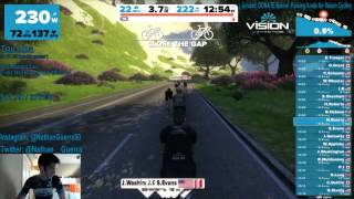 zwift beta century ride feb 28th 2015 getting the group together and teamspeak sorted