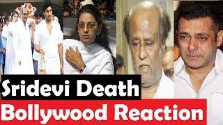 Bollywood Reaction On Sridevi Death|| Sridevi Death In Dubai|| Final Cut News