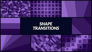 Shape Transitions for Animation Composer