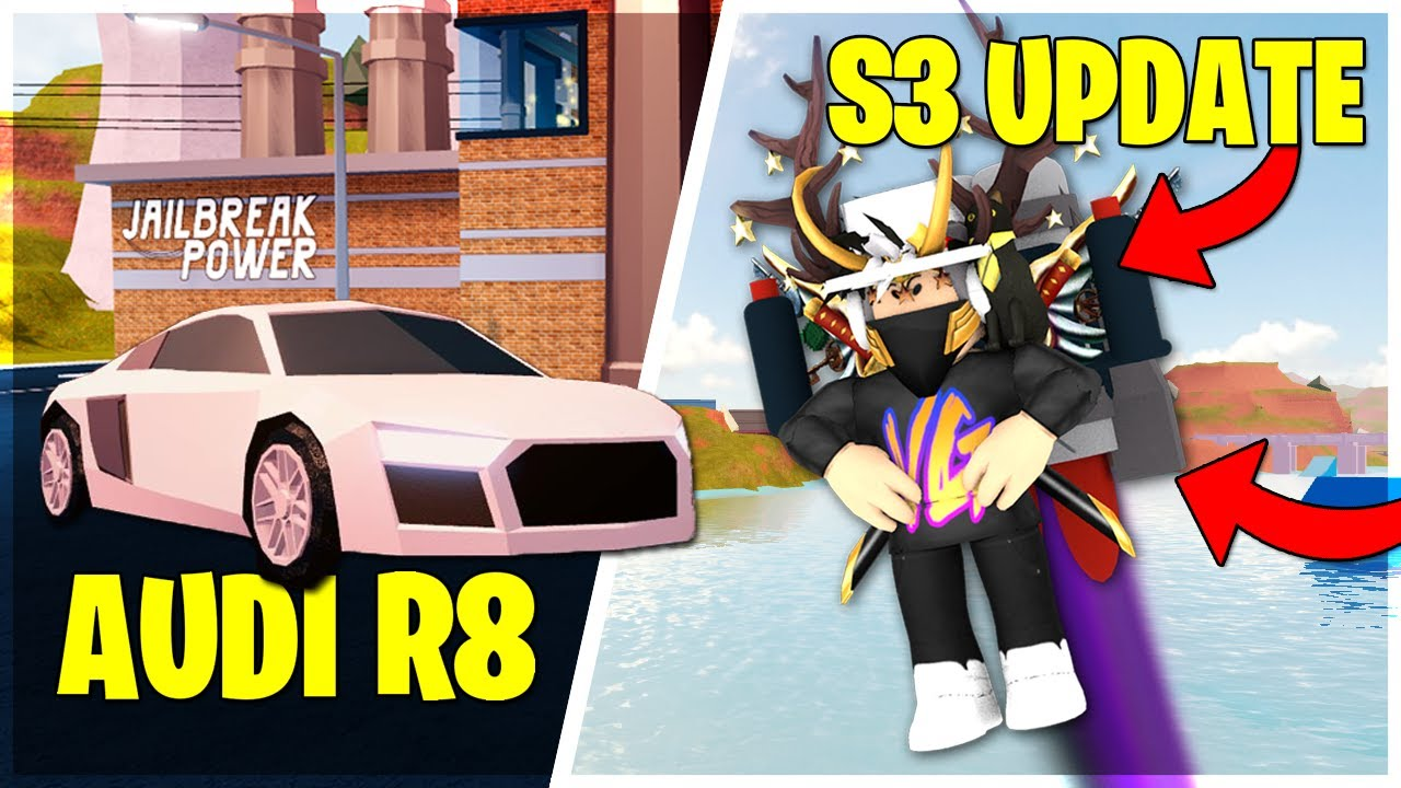 Top 3 Glitches With Jet Pack In Jailbreak Roblox Season 3 Update Full Guide Jailbreak Season 3 Update New Jet Pack Audi R8 Youtube