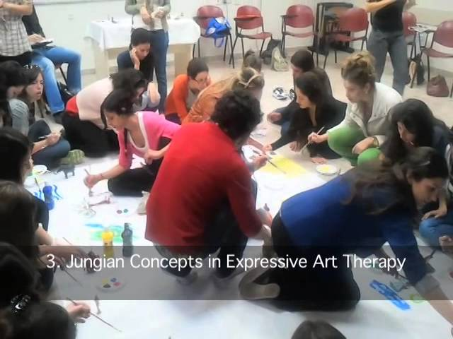 Expressive art therapy- short demo video