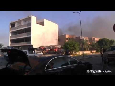 Libya: Rebels storm Gaddafi stronghold of Abu Salim