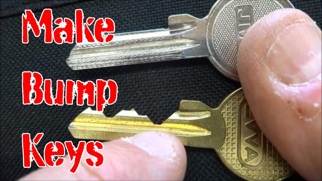 553  Make Bump Keys The Right Way