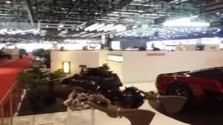 Salon de l'auto Genève 2017 après soirée...