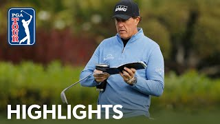 Phil Mickelson shoots 5-under 67 | Round 3 | AT&T Pebble Beach 2020