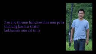 Joseph Zaihmingthanga - Nitin Lalpa (with lyrics)