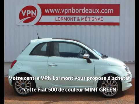 fiat 500 1 2 8v 69ch lounge serie 4 gps ja16 vendre bordeaux chez vpn autos youtube. Black Bedroom Furniture Sets. Home Design Ideas
