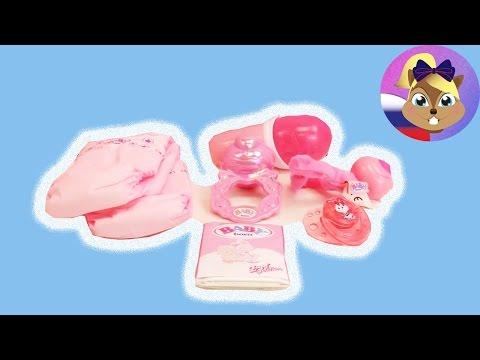 Высококачественный набор для пупса BABY BORN | Подгузники, соска, питание, погремушка