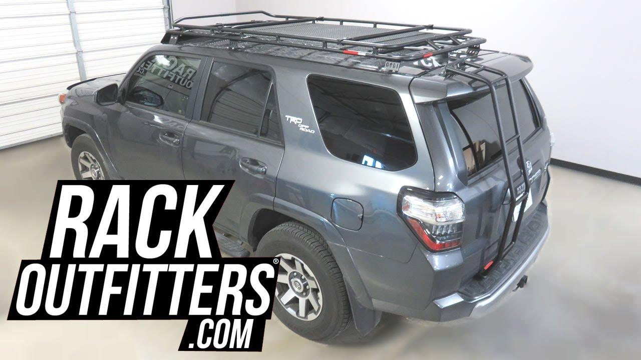 Toyota 4runner With Gobi Stealth Rack Including Fairing