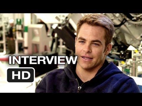 Star Trek Into Darkness Interview - Chris Pine (2013) - J.J. Abrams Movie HD
