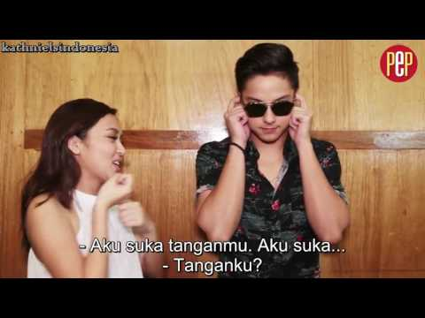 [Indo Sub] Kathryn Bernardo And Daniel Padilla Play 'I Like You Meter'