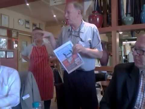 Nigel From The White Horse Pub Bedford Plugging Help For Heroes Event On June 21