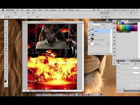 การตัดแต่งภาพเพื่อทำโปสเตอร์ Progarm Photoshop By อ.พี่อั๋๋น