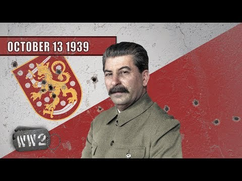 The Baltic in Stalin's Squeeze - WW2 - 007 13 October 1939 Mp3