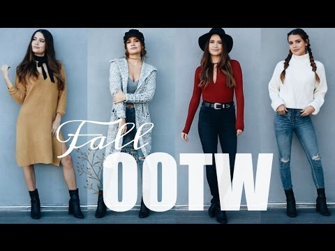 FALL OOTW | 7 EVERYDAY OUTFITS