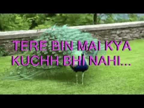 Meri Duniya Hai Tujhme Kahi karaoke with lyrics