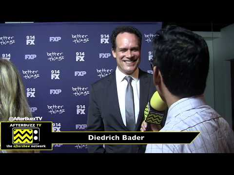 Diedrich Bader  I  Better Things Season 2 Premiere  I  2017