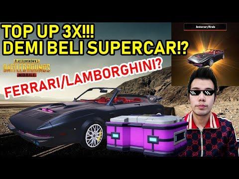BAKAR UC BELI MOBIL SUPERCAR PALING MAHAL PUBG MOBILE INDONESIA! ANNIVERSARY MIRADO MYTHIC SKIN!
