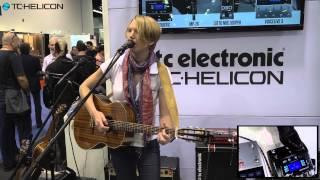 NAMM 2015 - Play Acoustic demo | Laura Davidson