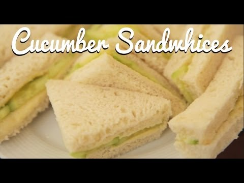 English Cream Tea Cu Ber Sandwiches