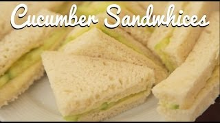 English Cream Tea: Cucumber Sandwiches - Crumbs