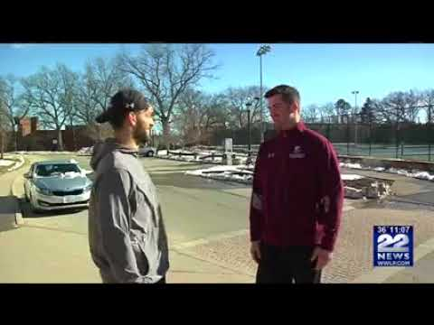 Springfield College Men's Basketball Final Four Coverage WWLP TV 22