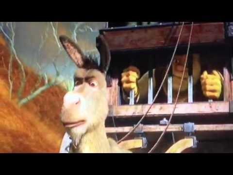 shrek and donkey meet