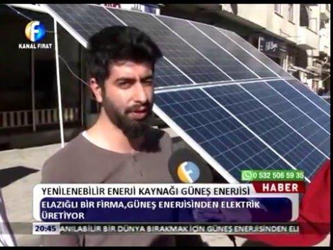 Yenilenebilir Enerji Kaynağı Güneş Enerjisi
