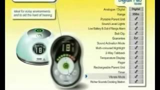 Видеообзор цифровой радионяни Tomy Digital Plus TD 350