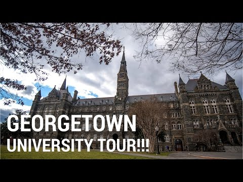 GEORGETOWN UNIVERSITY TOUR!!!