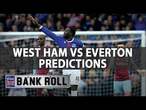 West Ham v Everton FC   Premier League Match Predictions   Sat 22nd April