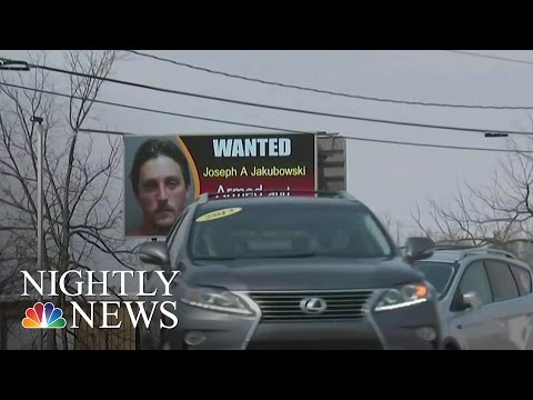Manhunt Intensifies In Wisconsin To Find Wanted Gunman | NBC Nightly News