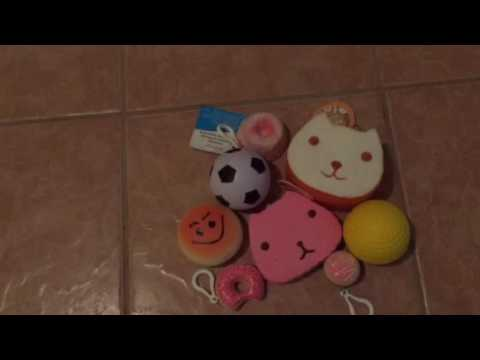 Biggest Squishy Collection Ever : Squishy collection - YouTube