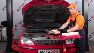 How to replace Air Filter on FORD MONDEO III Saloon (B4Y) - video tutorial