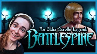 TES: BATTLESPIRE (Blind) | Complete first level! Learning the ropes...