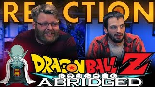 TFS DragonBall Z Abridged REACTION!! Dead Zone
