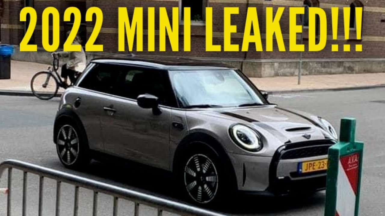 The 3 MINI Cooper has been leaked!!!