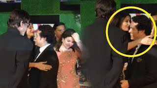 Anjali Tendulkar's reaction when Aishwarya HUG Sachin Tendulkar | Sachin movie Premiere