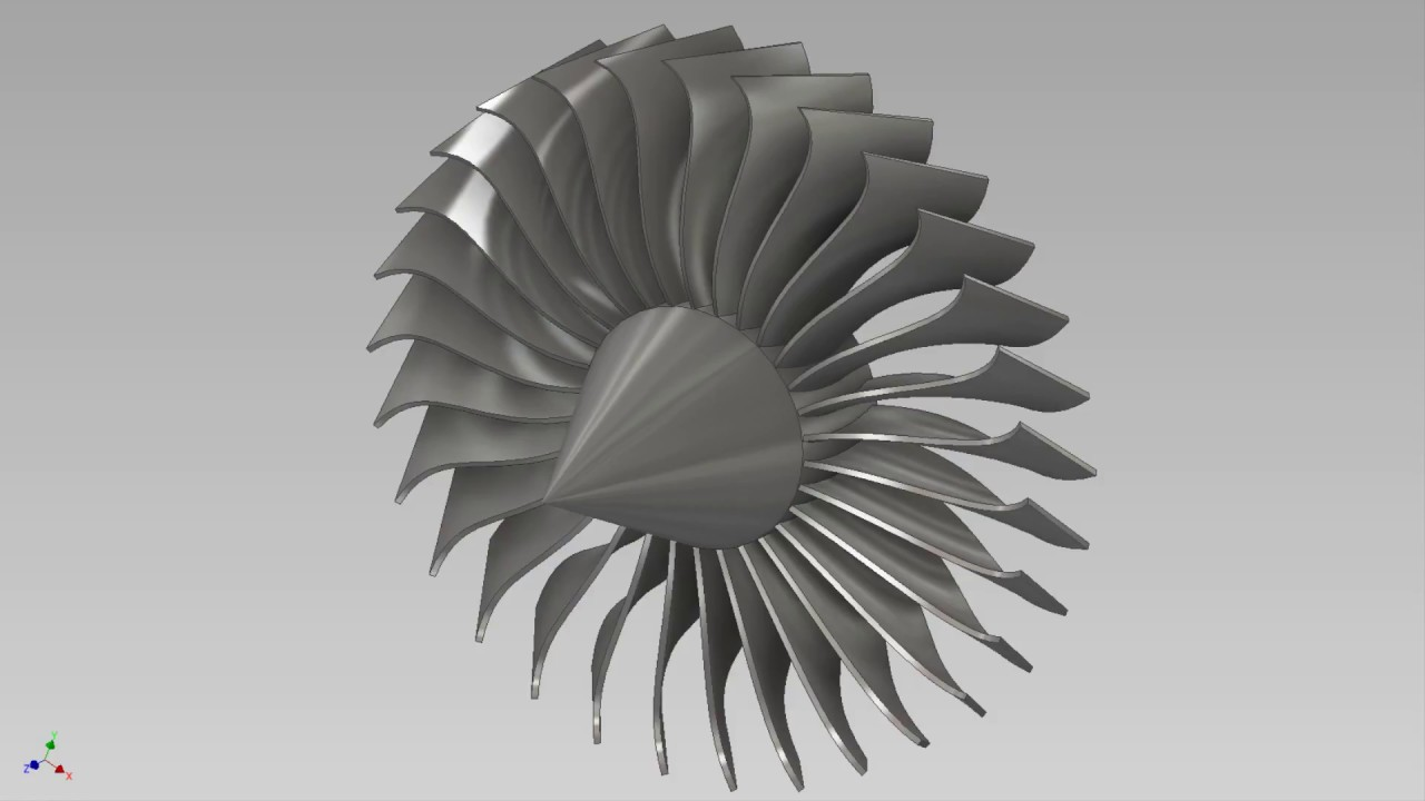 How To Make A Fan Blade In Inventor