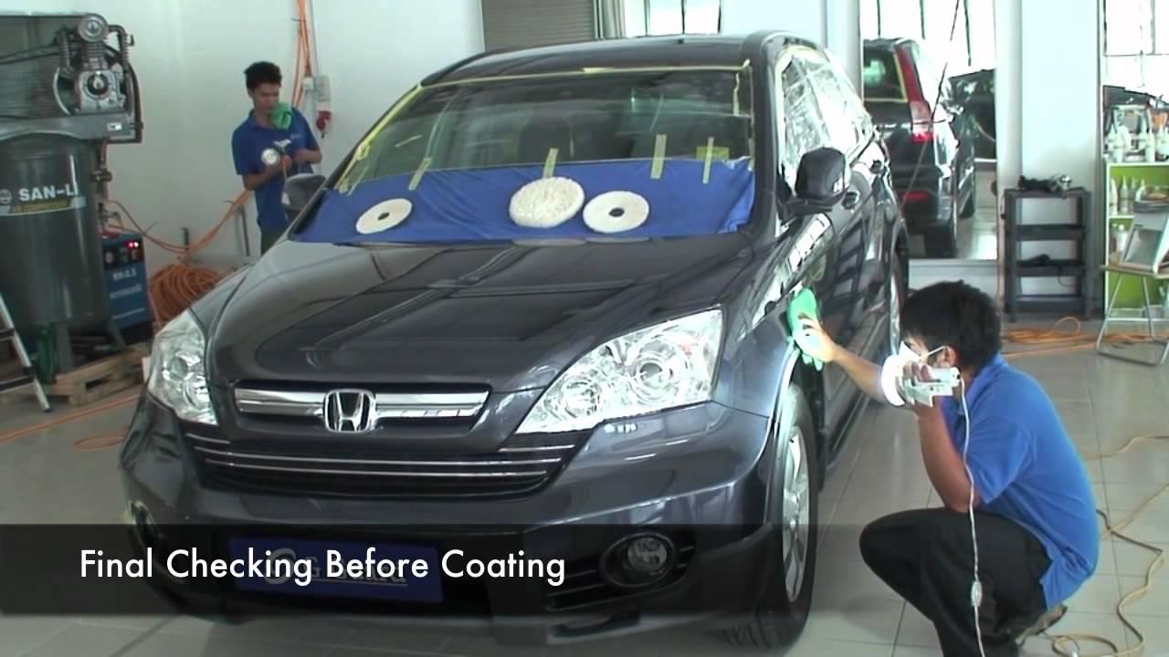 G Guard Car Polish Detailing Coating Malaysia Honda CRV 3699 Kuala Lumpur