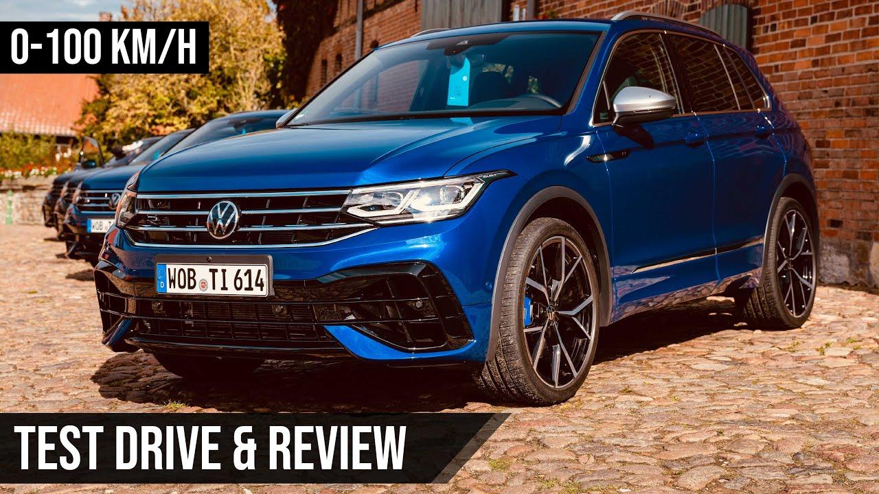 VW Tiguan R | 2021 | Test | Review | Sound | 0-100 km/h ...