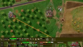 Close Combat 2: A Bridge Too Far - Polish Drop LZ Battle gameplay
