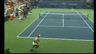 USオープン2008 グランドスラムテニス 中村 藍子