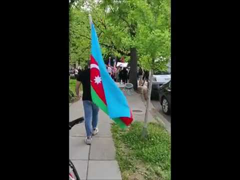 Азербайджанец против толпы армян.24.04.2019. США