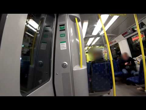 Sweden, Stockholm, subway ride from Gamla stan to T-Centralen