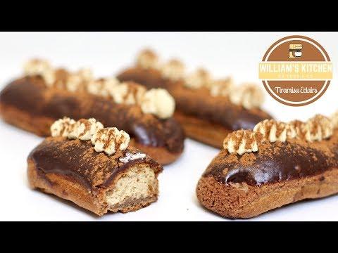 recette-des-eclairs-goût-tiramisu-|-william's-kitchen