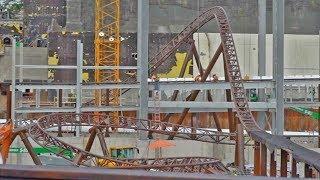 UPDATE: Harry Potter thrill ride construction at Islands of Adventure, Universal Studios Florida