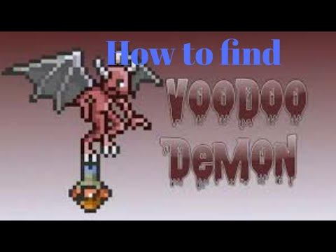 Terraria | How To Find Voodoo Demon FAST